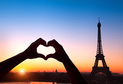 Fototapeta Amour de Paris 24763