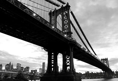 Fototapeta Manhattan Bridge 3381