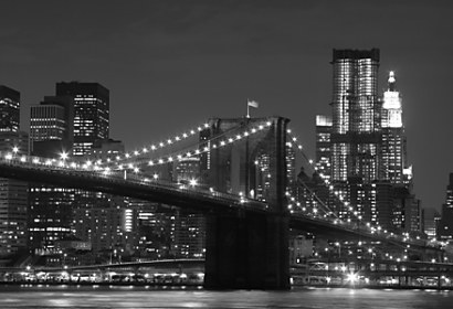 Fototapeta New York Black and White 24116