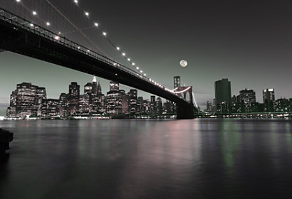 Fototapeta New York Brooklyn Bridge view 24145