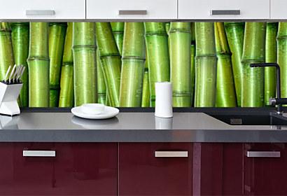 6b89dad2aff0c Fototapeta zástena - Cukríkové farby 4619 TAPETA NA KUCHYNSKÚ LINKU · Tapeta  bambus drevo