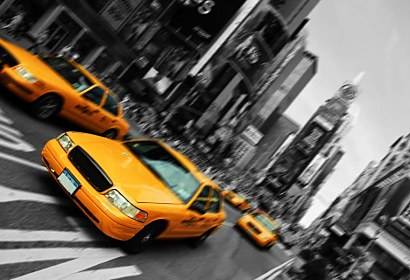 Fototapeta New York Taxi 18567