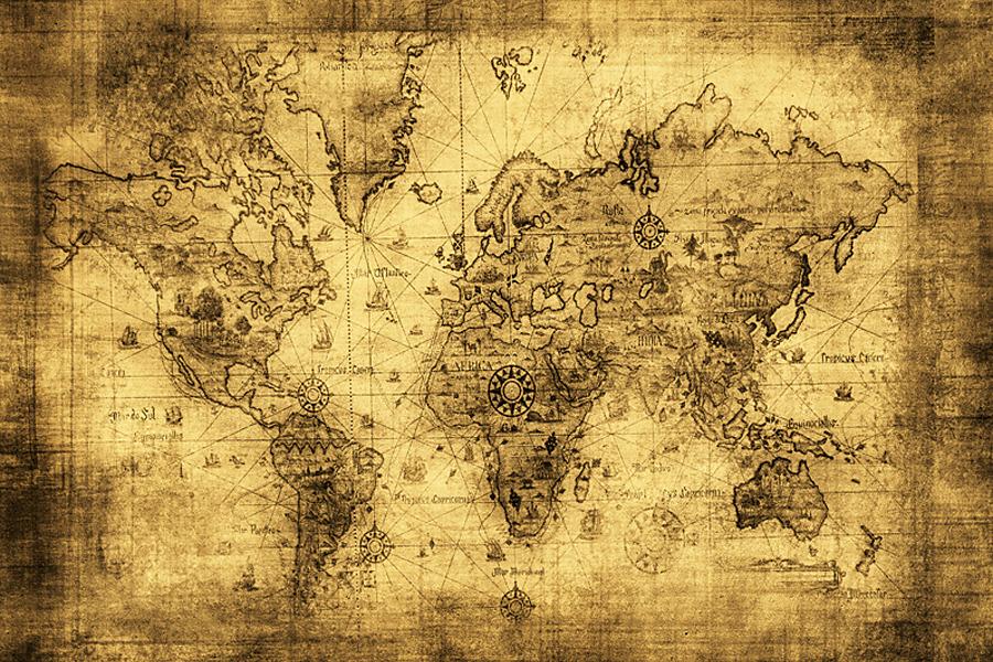 fototapeta mapa 57