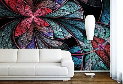 Tapeta Floral abstract 4235