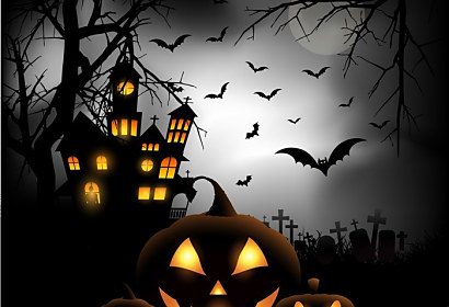 Fototapeta Halloween background ft-56003508
