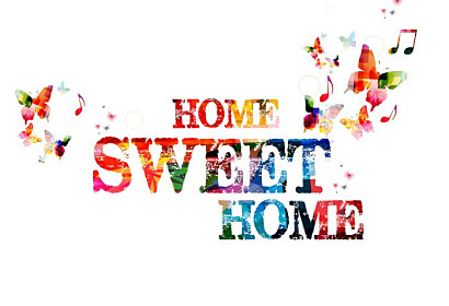 Tapeta Home sweet home ft-60716243
